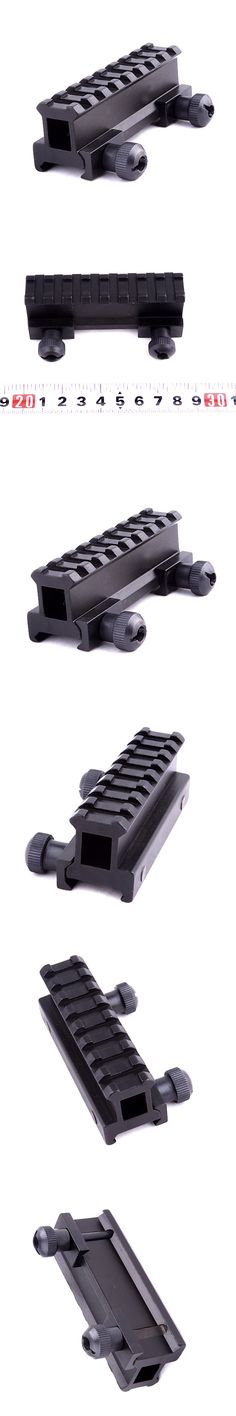 New Arrival Dovetail Weaver Picatinny Rail Pistol Airsoft Gun Hunting Generic Hunting Scope Mount Adapter 20mm Riser Base W1