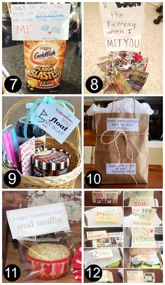 DIY Gifts for Him Just Because 7-12 - The Dating Divas