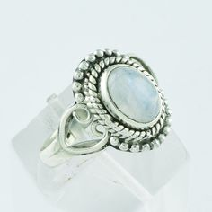 925 STERLING SILVER RAVA DESIGN RAINBOW MOON STONE RING #SilvexImagesIndiaPvtLtd #Statement #AllOccasions