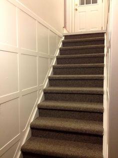 Stair molding DIY - tutorial, supplies list