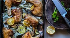 French Roast Chicken With Fennel & Lemon