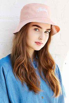 b7f9159a6b1 Stussy x UO Digital Print Reversible Bucket Hat Wide Brimmed Hats