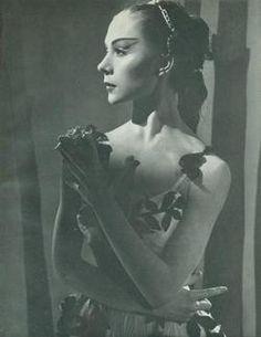 Svetlana Beriosova (1932-1998) British prima ballerina, danced with the Royal Ballet of England for over twenty years.
