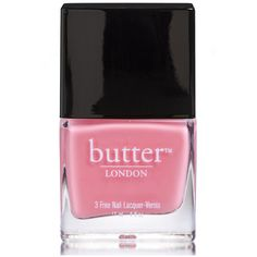 butter LONDON Trout Pout 3 Free Lacquer (11ml) (735 PHP) ❤ liked on Polyvore featuring beauty products, nail care, nail polish, nail, butter london nail lacquer, butter london nail polish and butter london