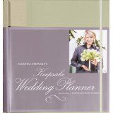 Martha Stewart's Keepsake Wedding Planner (Ring-bound)By Martha Stewart