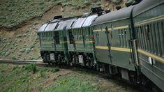 Asia's greatest rail journey - Trans-Mongolian Railway, the eastern loop of the legendary Trans-Siberian.