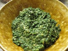 Condiments: Kale Pesto