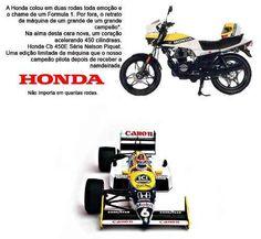 Honda Cb 450 E Nelson Piquet (raridade)