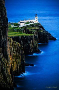 Faro de Neist Point - isla de Skye, Escocia