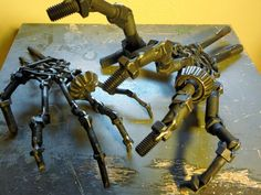 #steampunk #poe #skull #tattoo #gun #skeleton #brutalist #hand #love #hate #sculpture #slipknot #eminem #art #MetalArt #playstation #xbox