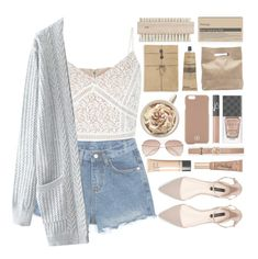 """""""≪ spring break"""" by xhopefulromanticx ❤ liked on Polyvore featuring Aesop, Marie Turnor, H&M, Tory Burch, Gucci, NARS Cosmetics, Bobbi Brown Cosmetics, Too Faced Cosmetics and Zara"""