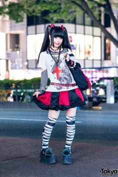 Grunge Goth, Grunge Style, Soft Grunge, Nu Goth, Tokyo Street Fashion, Japanese Street Fashion, Alternative Outfits, Alternative Fashion, Visual Kei