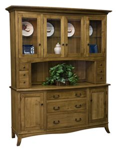 Amish Montepelier Hutch