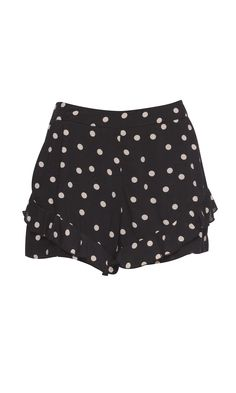 Loving these spotty 'CUPID SHORTS' - ruby