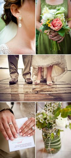 style inspiration: another Wisconsin wedding--This is so similar to what I would like.