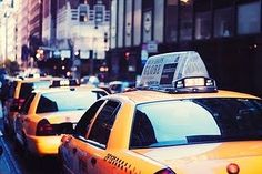 Taxi Cabs in NYC.