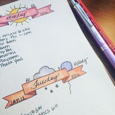 daily bullet journal 12 Layout Ideas Youll Want to Steal for Your Bullet Journal