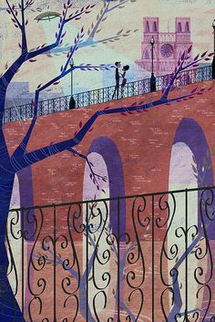 Trees, UFOs and Paris. Josie Portillo.