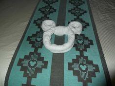 Mickey Mouse on bed - Picture of Disney's Coronado Springs Resort, Lake Buena Vista - Tripadvisor