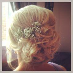 Bridesmaid hair x