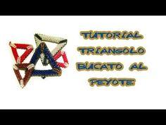 tutorial di base peyote per principianti  come creare un triangolo bucat...