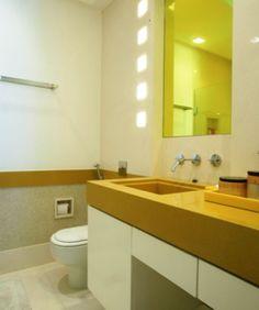 Bancadas de Banheiro e Lavabo - Clique Arquitetura