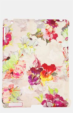 Ted Baker London iPad Case - how pretty - available at #Nordstrom