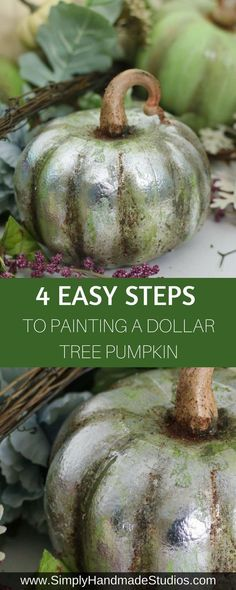 Dollar Tree Pumpkins, Foam Pumpkins, Dollar Tree Crafts, Painted Pumpkins, Plastic Pumpkins, Diy Pumpkin, Pumpkin Crafts, Fall Crafts, Holiday Crafts