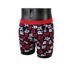 Røde boxershorts fra Apollo! Kan købes hos www.billigeboxers.dk.  Se:   http://www.billigeboxers.dk/home/52-boxershorts-med-blomster-fra-apollo-i-rod.html