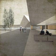 TEd'A arquitectes-escola riaz-gruyère-04 render-300