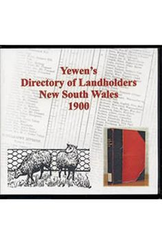 Yewen's Directory of Landholders, New South Wales, 1900 New South, South Wales, Genealogy, History, News, Ebooks, Family Tree Chart, Historia, History Activities