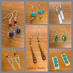 Ladybug Jewelry, Bling, Boho, Bracelets, Earrings, Ear Rings, Jewel, Stud Earrings, Ear Piercings