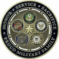 Proud Military Family Challenge Coin Us Military Medals, Military Ranks, Military Girlfriend, Military Insignia, Military Love, Military Gifts, Military Photos, Military Spouse, Military Challenge Coins