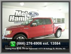 2010 Ford F-150 Lariat Pickup  Front Shoulder Room: 65.9, Front Leg Room: 41.4, Clock: In-Radio Display, Split Rear Bench, 1St And 2Nd Row Curtain Head Airbags, Tilt-Adjustable Steering Wheel,