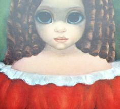 Calico Cat Big Eye Margaret Keane by BellaMercato on Etsy Margaret Keane Artwork, Big Eyes Margaret Keane, Keane Big Eyes, Big Eyes Paintings, Eyes Artwork, Keane Artist, Big Eyes Artist, Artistic Visions, Sad Pictures