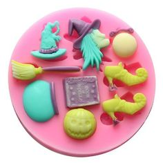 Longzang Witch Set Fondant Silicone Sugar Craft Mold, Mini, Pink > Hurry! Check out this great item : baking essentials