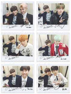BTS bangtan boys run with v wide polaroid photo set kpop photocard suga jungkook