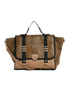 New Look Wendy Panelled Wing Shoulder Bag 82