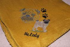 Blanket for Pug customer