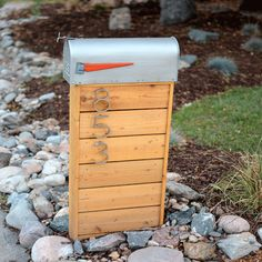 How to build this modern mailbox!                                                                                                                                                      More
