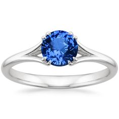 18K White Gold Sapphire Reverie Ring from Brilliant Earth