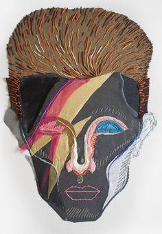 15 Ultra Talented Portrait Artists to Check Out Right Now Psy Art, Creative Textiles, Sewing Art, Art Sketchbook, Embroidery Art, Fabric Art, Art Techniques, Textile Art, Fiber Art