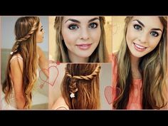 Perfect First Day of High School Hair & Makeup! Jackie Wyers - YouTube