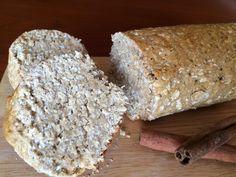 Pão de mistura de cereais, mel e iogurte by nutrição com coração