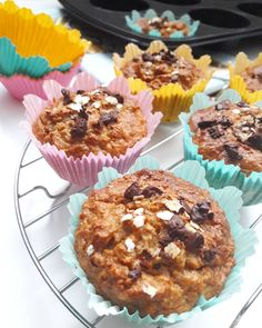 Food To Make, Sweet Tooth, Muffin, Paleo, Food And Drink, Tasty, Sweets, Healthy Recipes, Snacks