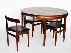 Hans Olsen Table and Chairs