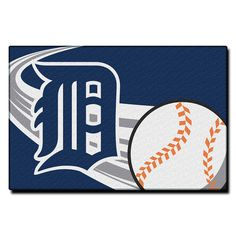 Detroit Tigers MLB Tufted Rug (30x20)