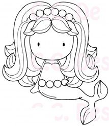 mermaid w/ pearls Colouring Pages, Coloring Books, Mermaid Coloring Pages, Embroidery Patterns, Hand Embroidery, Mermaid Crafts, Digi Stamps, Copics, Art Dolls