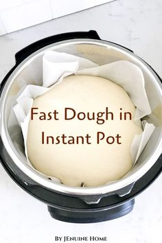 in Instant Pot How to proof dough in the Instant Pot for homemade bread or dinner rolls!How to proof dough in the Instant Pot for homemade bread or dinner rolls! Instant Pot Lid, Best Instant Pot Recipe, Instant Pot Dinner Recipes, Instant Pot Pressure Cooker, Pressure Cooker Recipes, Pressure Cooking, Slow Cooker, Best Homemade Rolls Recipe, Homemade Baby