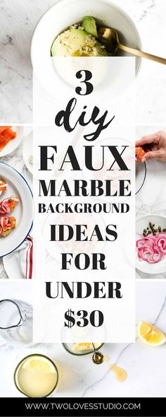 Jan 2020 - Three super cheap ideas for DIY faux marble backgrounds! Make those food photography backgrounds of your dreams for a fraction of the price. Best Food Photography, Photography Ideas, Photography Basics, Photography Backdrops, Photography Tutorials, Background For Photography, Photography Backgrounds, Aussie Food, Food Hacks